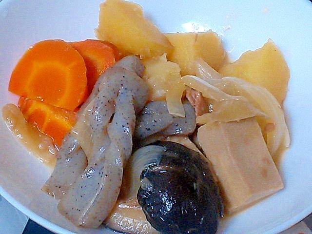 調味料少しでもしっかり旨い!野菜と乾物の具沢山煮物