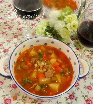 ☆★スコットランド風スープ♪トマト味★☆