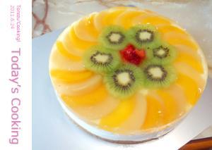 夏用のヨーグルトムースケーキです! レシピ・作り方 by torezu|楽天レシピ