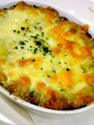 マッシュポテトのカレーグラタン レシピ・作り方