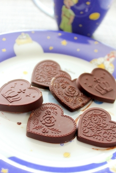 糖質制限×MEC♪口どけ超滑らか☆板チョコアイス