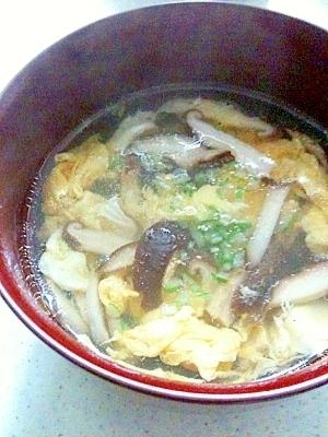 しいたけ 中華 スープ