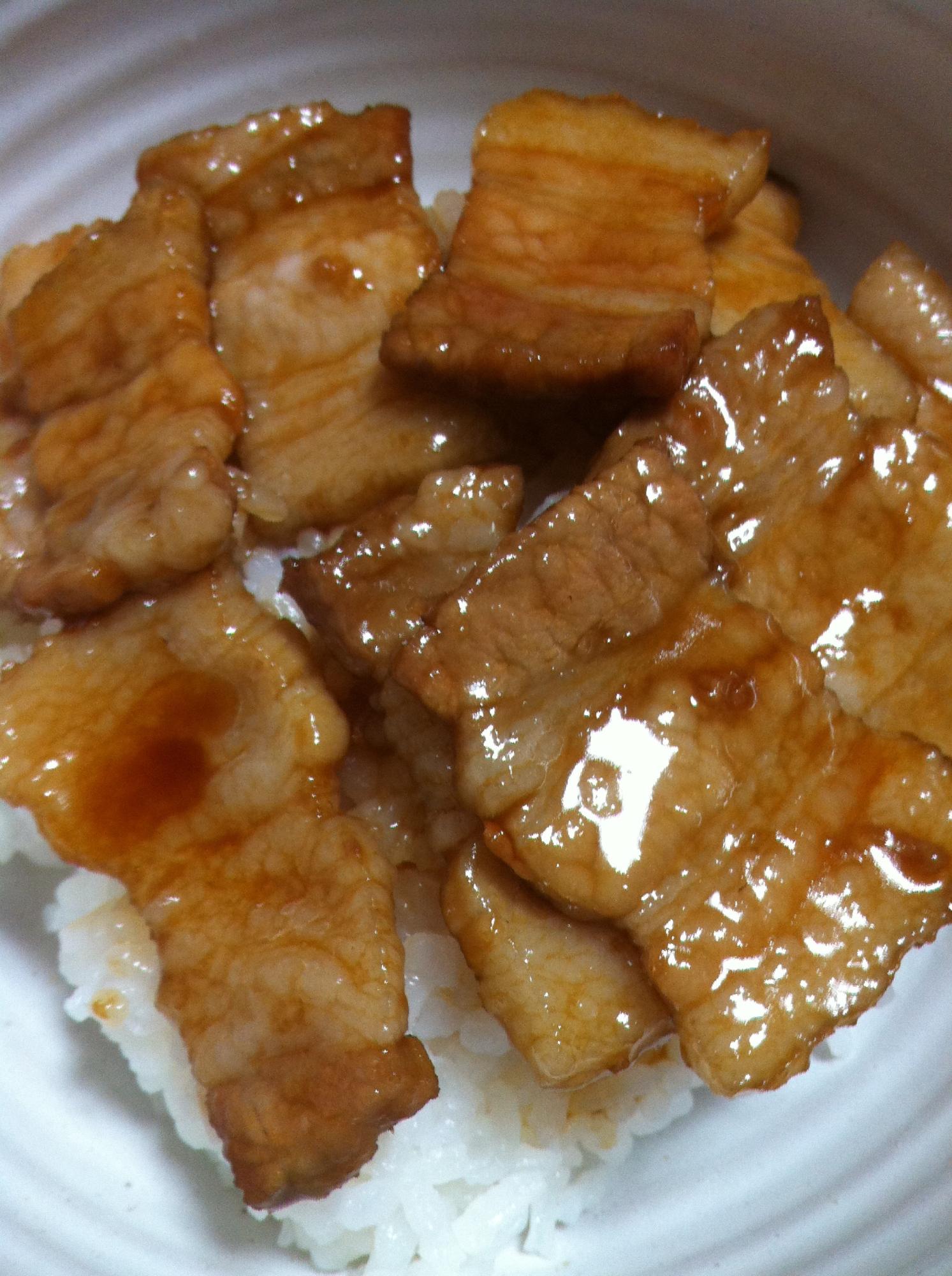 十勝豚丼 レシピ・作り方