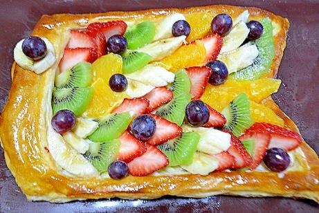 こどもの日に☆わくわくこいのぼりフルーツパイ