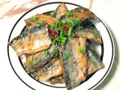 甘辛!揚げ焼き秋刀魚