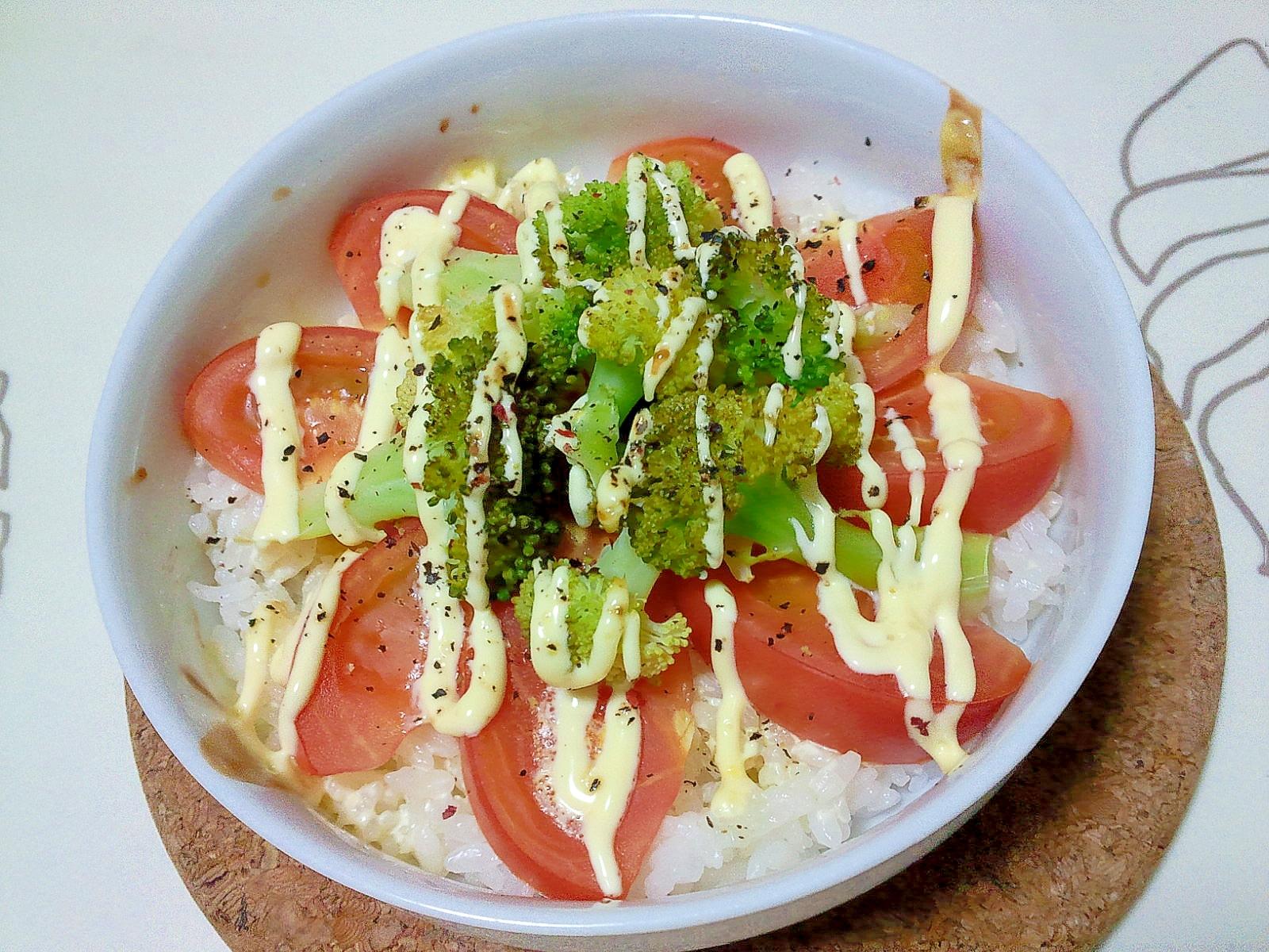 ホットサラダご飯++