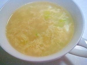 ウェイパーで簡単(^▽^)♪たまごの中華スープ☆ レシピ・作り方