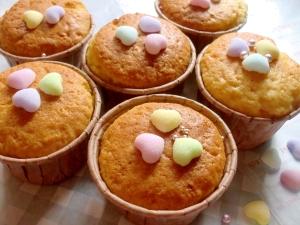 カップケーキ ホットケーキミックス