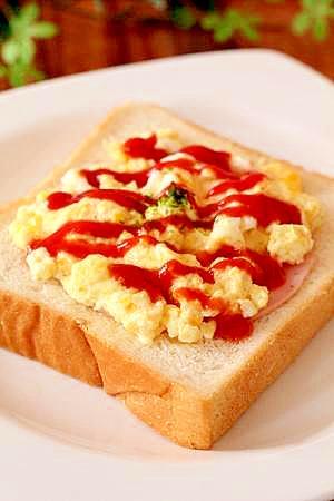 私のお気に入り♪ふわとろオムライス食パン