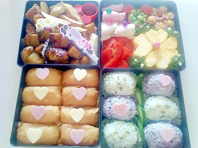 2013年お姉ちゃん運動会のお弁当