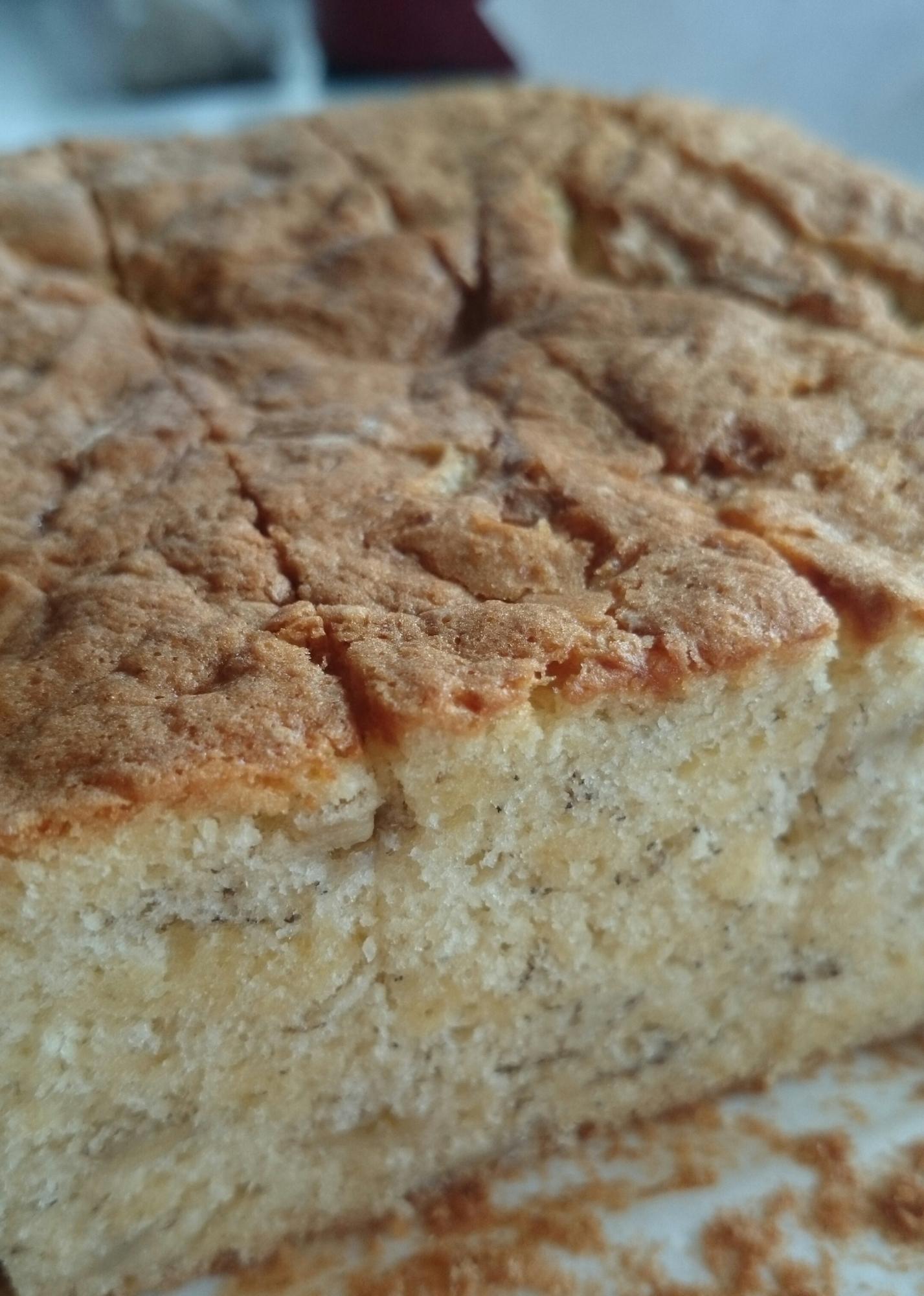 メレンゲで「バナナケーキ」♪ レシピ・作り方