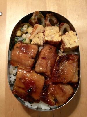お弁当に!サンマの蒲焼丼~梅しょうが風味