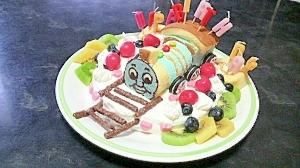 お手軽☆機関車トーマスケーキ