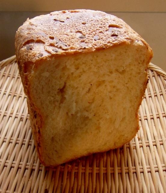 ホームベーカリーでリッチ食パン
