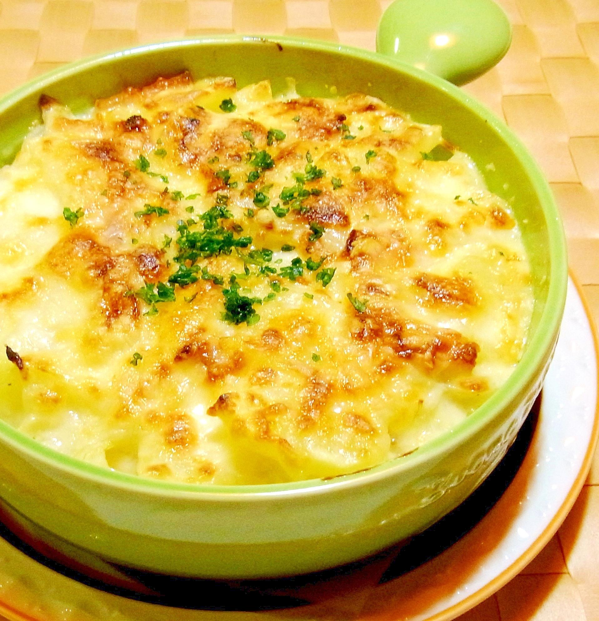 ポテトとベーコンのマカロニグラタン レシピ・作り方 by ☆メリッコ☆|楽天レシピ