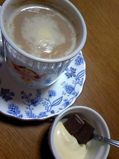 カスタード&チョコ☆コーヒー