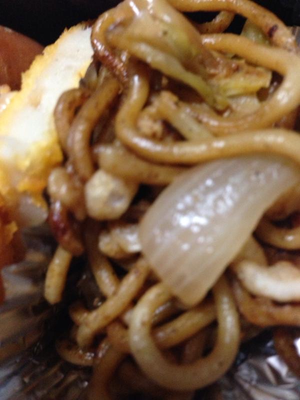 お弁当に☆定番ソース焼きそば(*^^*)