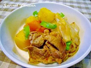 韓国風フライパンで作る♪豚キム肉じゃが