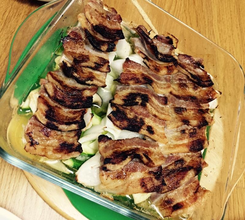 春夏野菜と豚バラdeヘルシーオーブン焼き