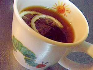 温まるブランデー入り生姜紅茶