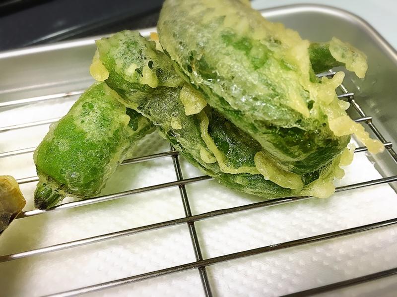 1. 基本のししとうの天ぷら