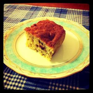 簡単★ヘルシーバナナおからケーキ