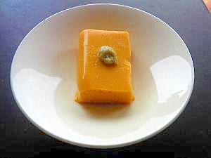 レンジで簡単☆カボチャ豆腐(1歳5ヶ月~) レシピ・作り方 by kanonai 楽天レシピ