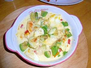 アボガドのチーズ焼き