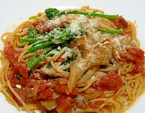 トマト味春のスパゲッティ♪