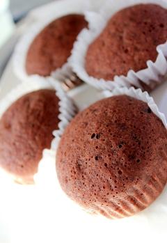フライパンで♪糖質制限★チョコレート蒸しパン