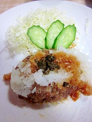 カロリーダウン~和風豆腐ハンバーグ