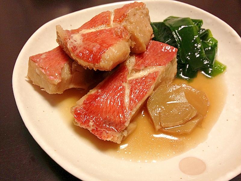 和食☆ご飯が進む!金目鯛の煮付け