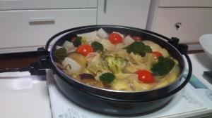 野菜いっぱいのポトフな鍋