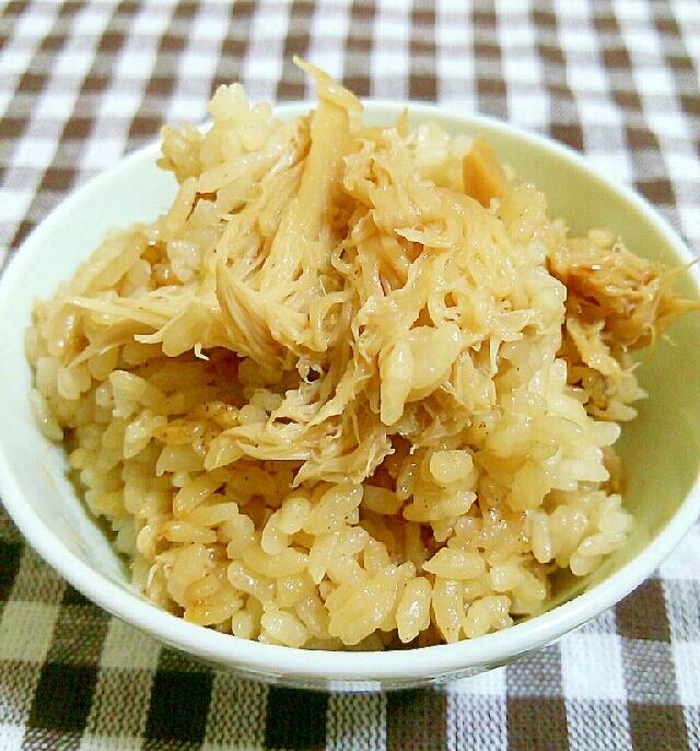 ヤマブシタケを味わう☆炊き込みご飯 レシピ・作り方 by あ,ち0024 楽天レシピ