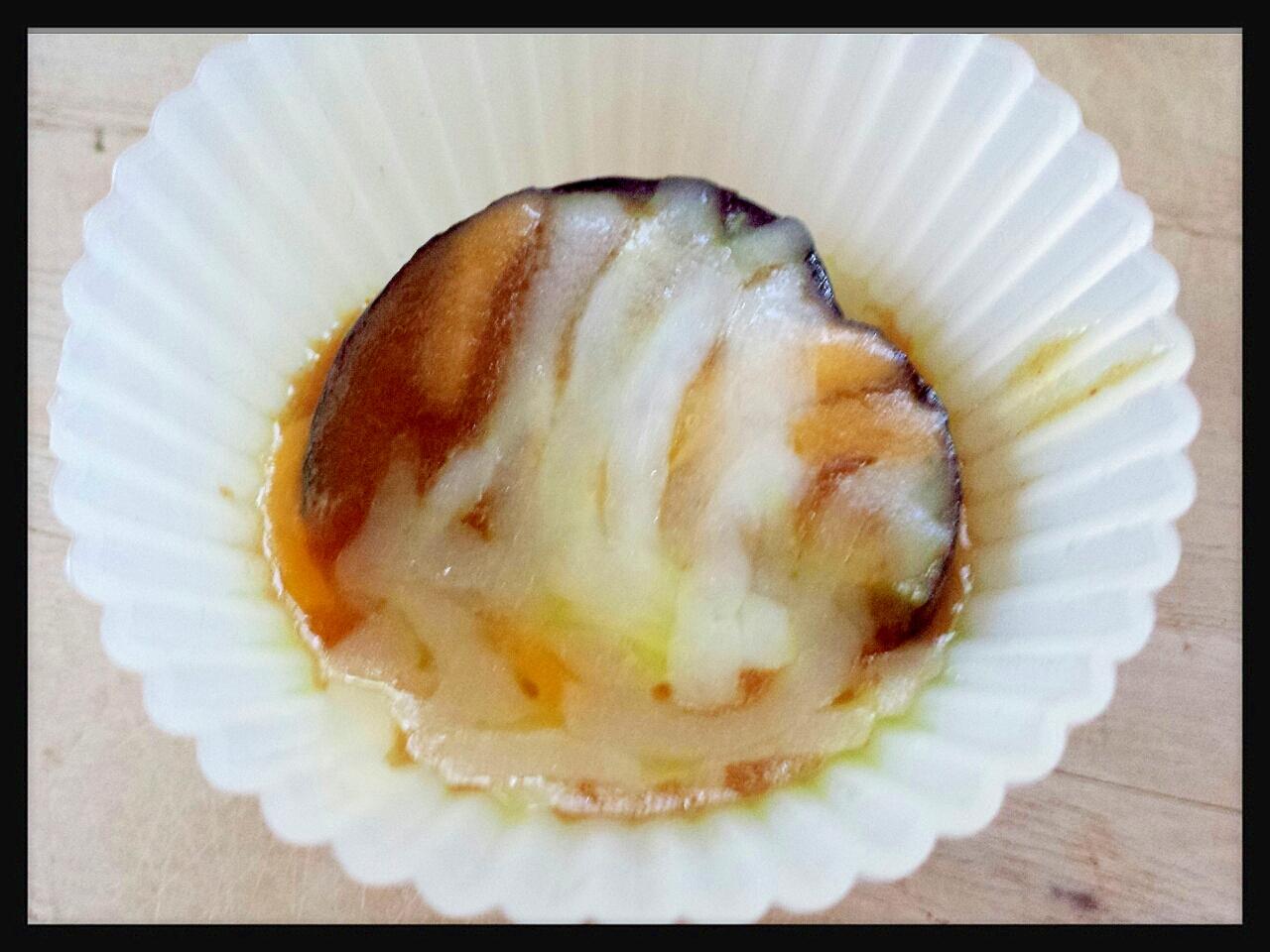 余ったカレーでお弁当の作り置き☆茄子のカレーチーズ