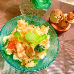 簡単美味しい柚子胡椒×昆布茶クリチーポテトサラダ