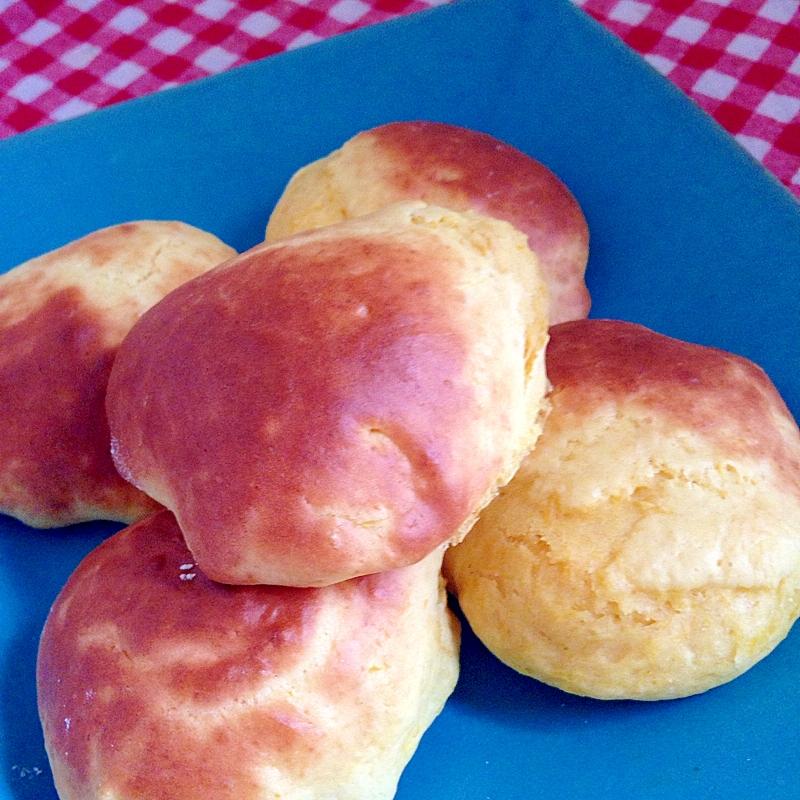 トースターで!かぼちゃのパンスコーン