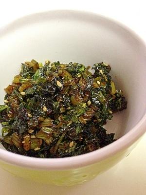 捨てないで☆セロリの葉の佃煮 レシピ・作り方
