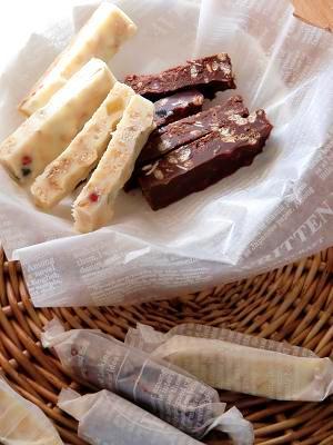 フルーツグラノーラで生チョコバー♪ レシピ・作り方 by ゆきっぺ1225|楽天レシピ