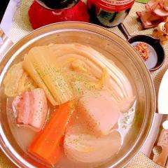 塩豚とたっぷりお野菜のポトフ