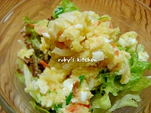 パパ作☆野菜たっぷり☆ポテトサラダ
