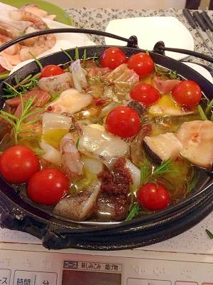 スペイン鍋料理!見た目華やか!...