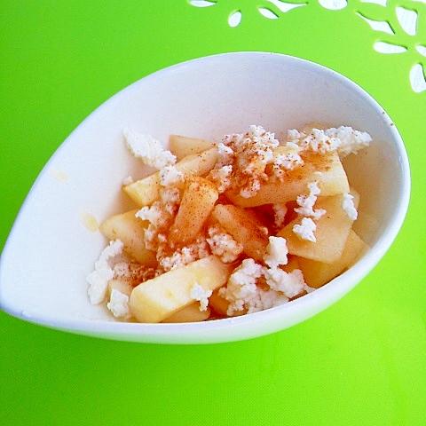3. 焼きヨーグルトの林檎のハニーシナモンサラダ