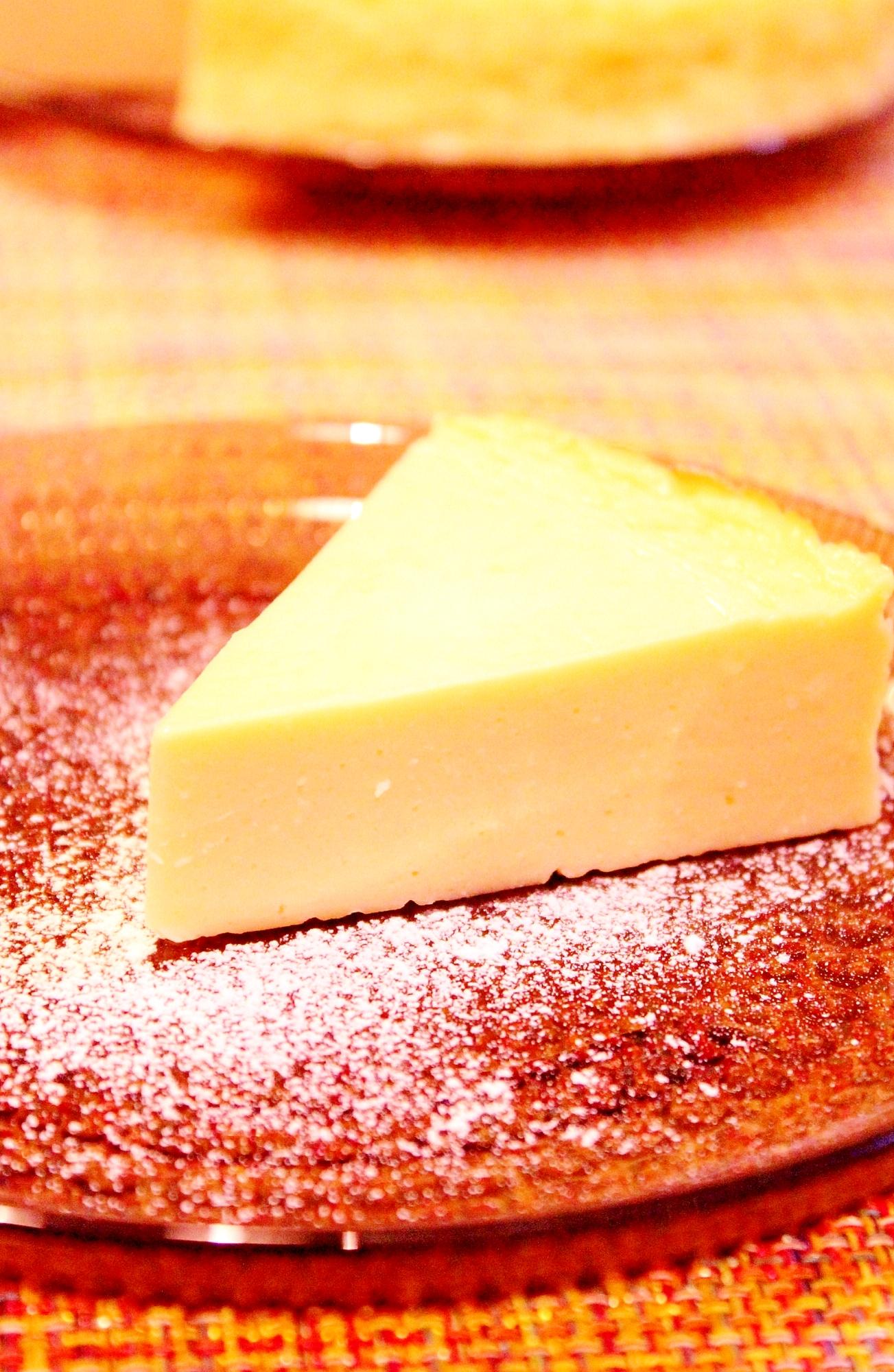 3. スライスチーズで作るヨーグルトケーキ