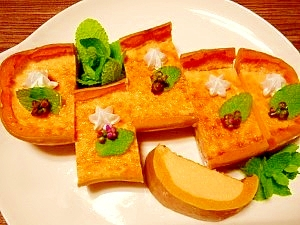 バターナッツ南瓜☆しっとりプリン レシピ・作り方