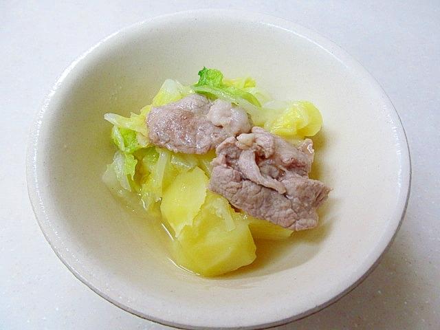 *豚肉とじゃが芋の中華風煮物*
