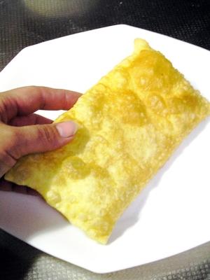 ブラジルの大きな揚げ餃子パステウ