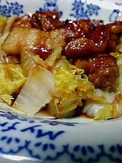 豚バラ肉の照り焼き弁当用