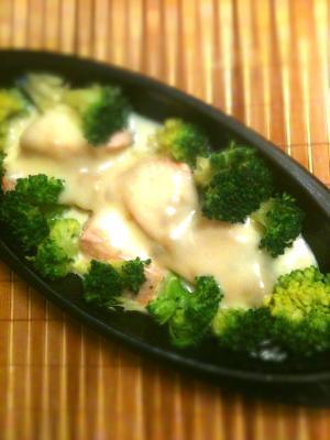 無水*春野菜と鮭の味噌チーズ蒸しグラタン仕立て