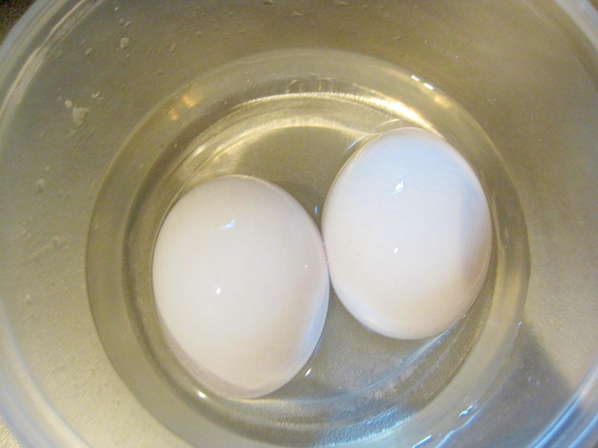 1. 殻付きのまま保存するだけ。基本の塩卵♪